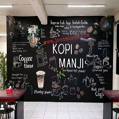 jasa lukis dinding cafe
